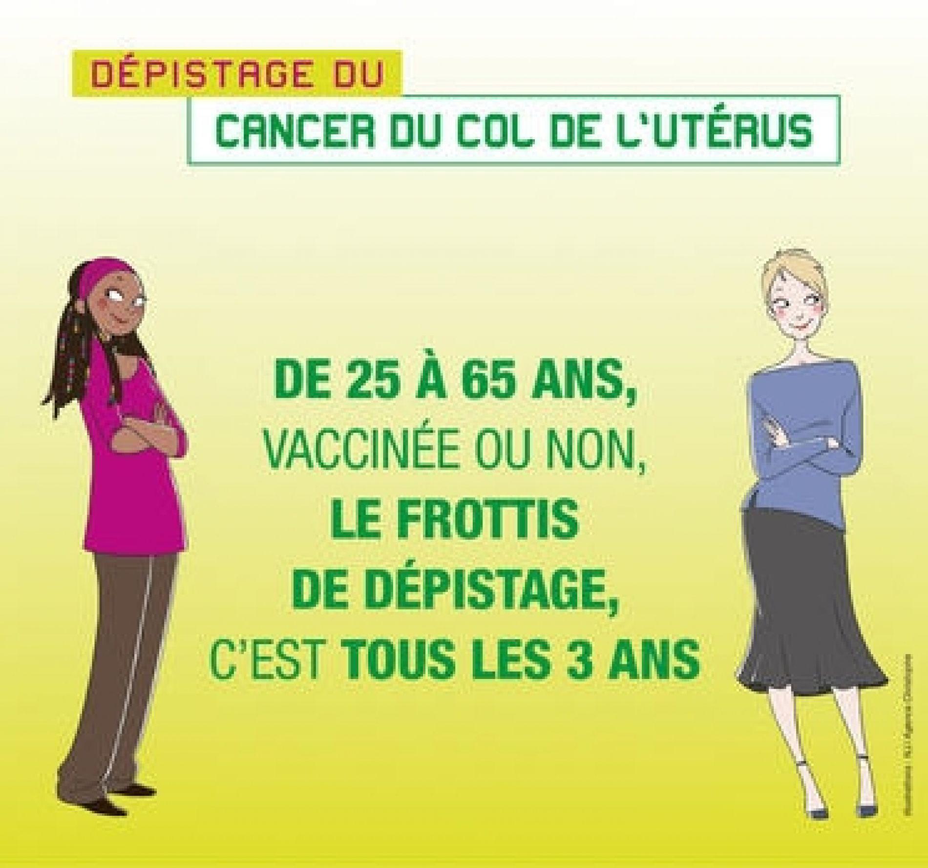 Après Octobre rose, Mars bleu, c'est JUIN VERT l'autre mois du dépistage des cancers féminins