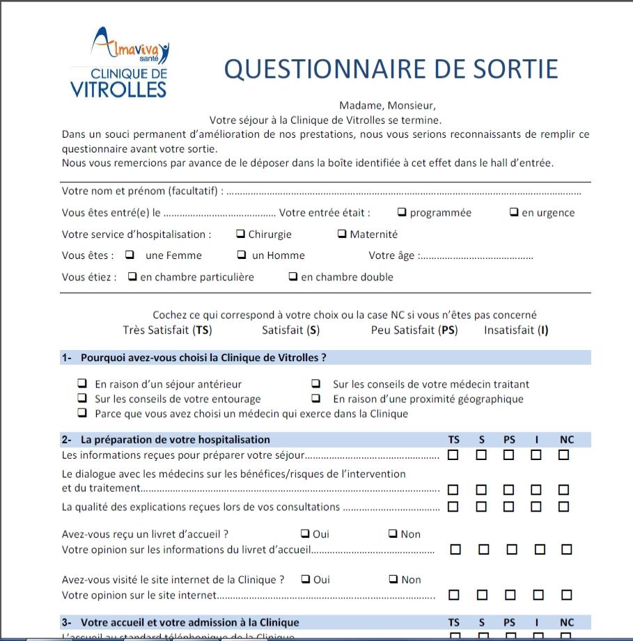 Questionnaire de satisfaction bmw
